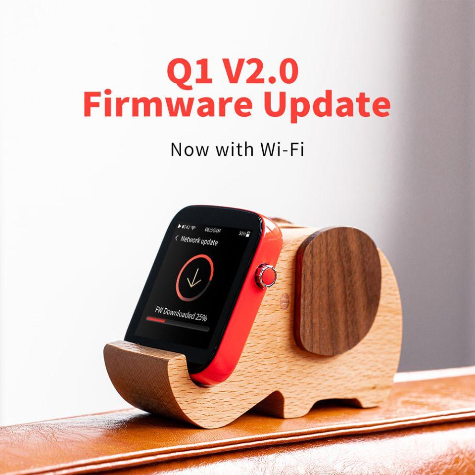 Shanling Q1 Firmware V2.0 Released: Wi-Fi Functionality!!