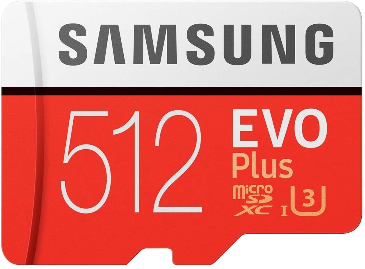 Samsung EVO+ 512GB