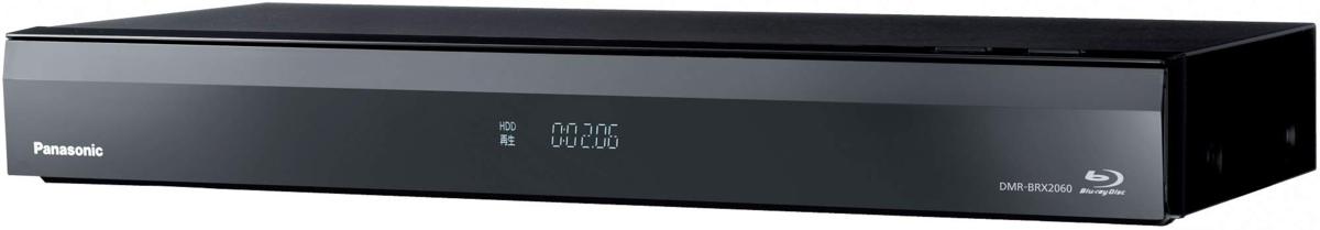 パナソニック DIGA DMR-BRX2060