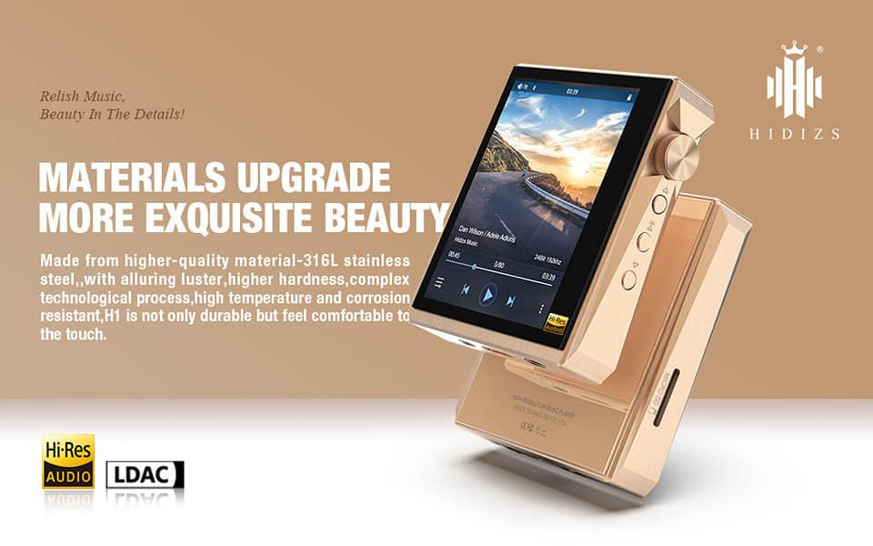 Hidizs AP80 Pro Rose Gold Limited Edition
