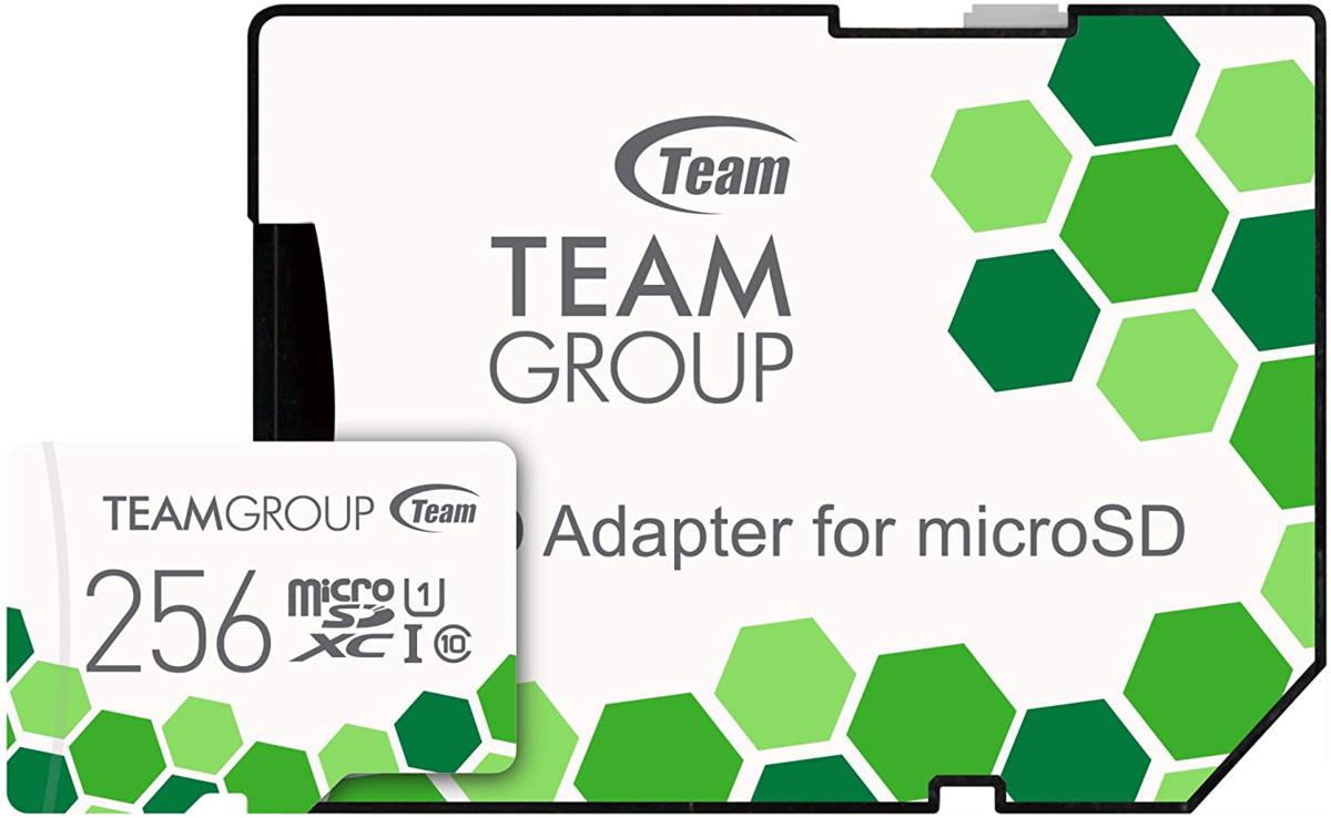 Team microSDXCカード