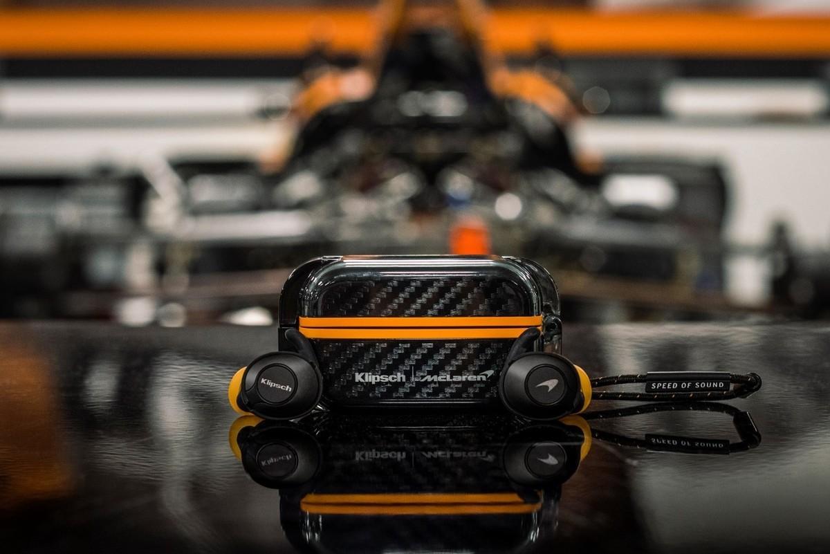 Klipsch T5 ll TRUE WIRELESS SPORT McLaren Edition