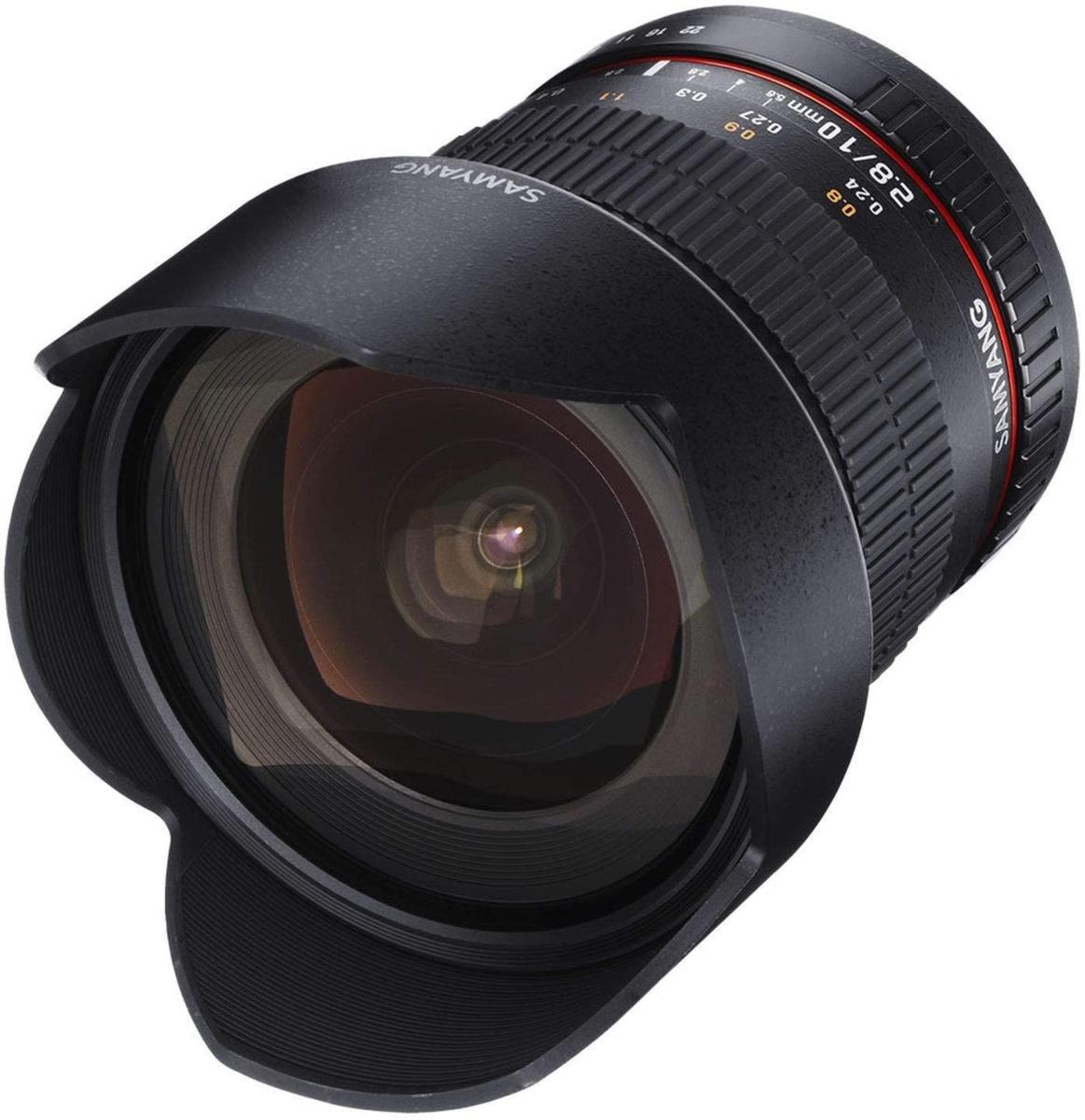 SAMYANG 単焦点広角レンズ 10mm F2.8 キヤノン EOS M用 APS-C用