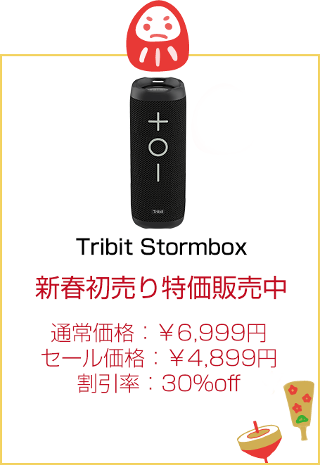 Tribit Stormbox