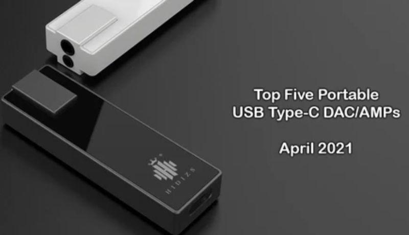 ポータブルUSB Type-C DAC/AMP TOP5