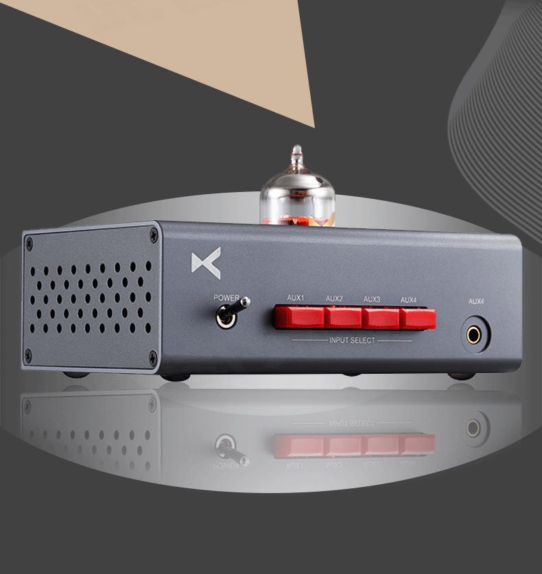 【HiFiGOニュース】最新の12AU7真空管プリメインアンプ「xDuoo MT-603」登場