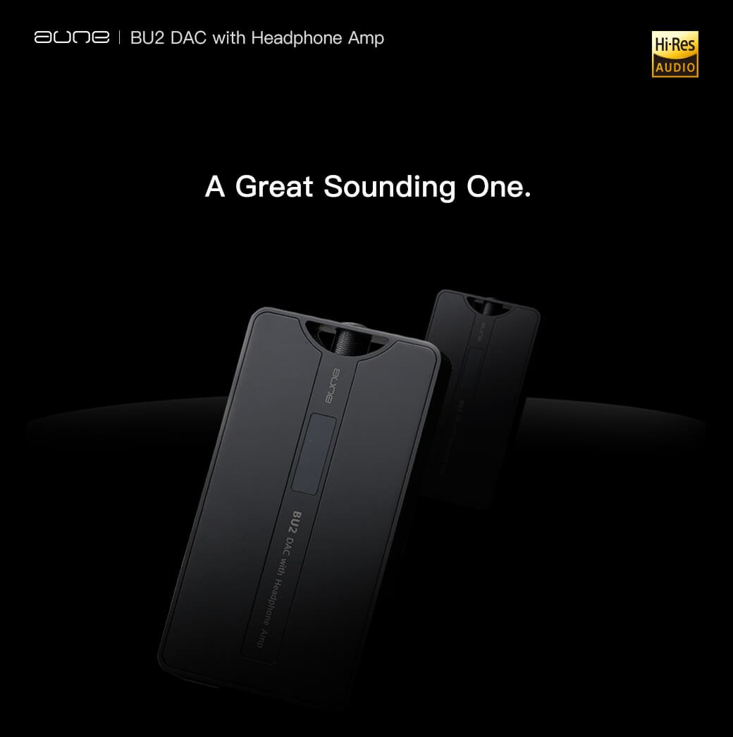 【HiFiGOニュース】最新のポータブルBluetooth & USB DAC+ヘッドホンアンプ「Aune BU2」登場
