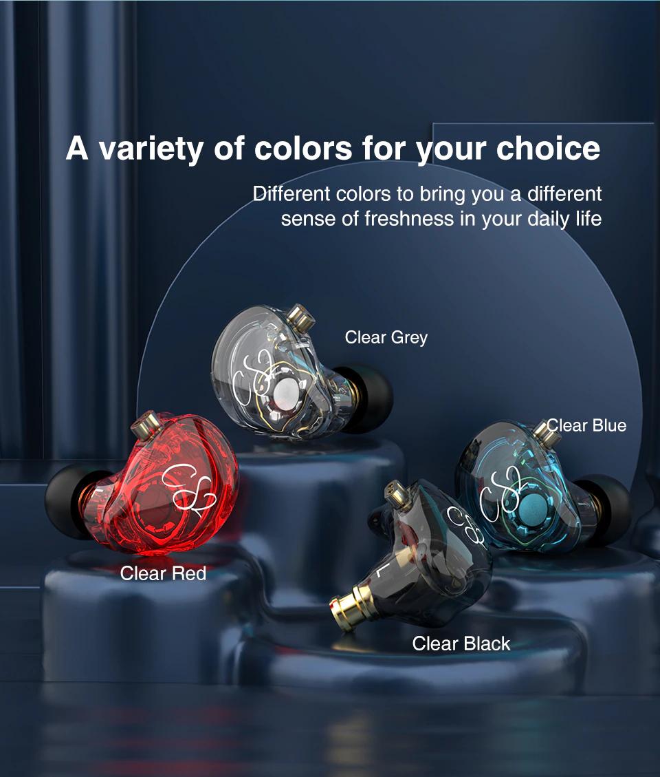 【ニュース】透明感のあるシェルと多彩なカラーリング!おしゃれな低価格シングルDD IEM「TRN CS2」登場