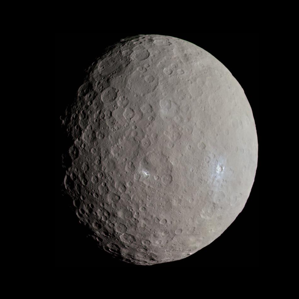 準惑星ケレス(画像引用元:Wikipedia)