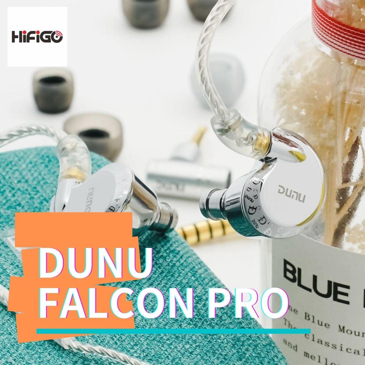 【HiFiGOニュース】DUNU Falcon Pro:DUNU最新のECLIPSEダイナミック・ドライバーIEMをお求めやすい価格で提供