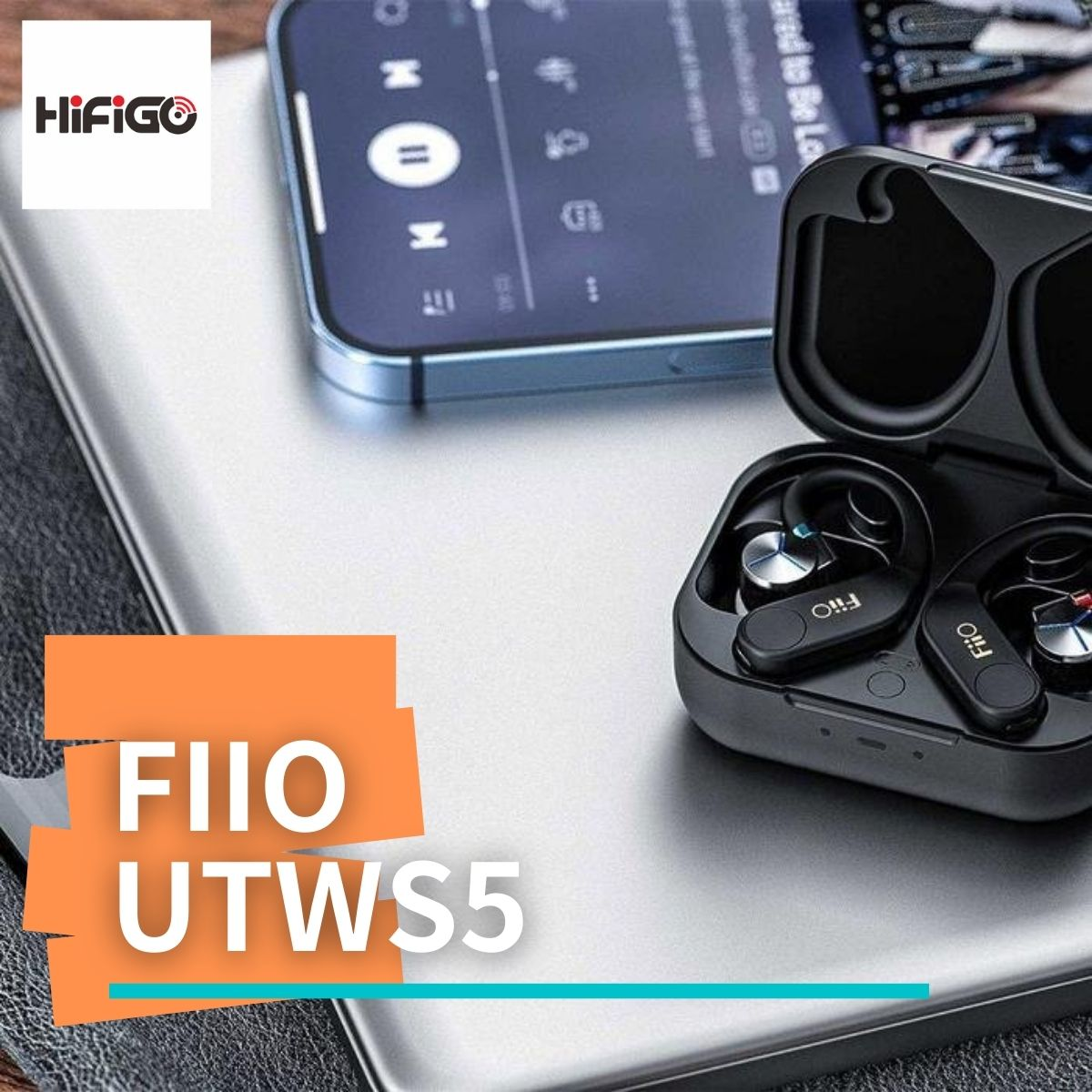 【HiFiGOニュース】FiiO UTWS5:Bluetooth V5.2に対応した完全ワイヤレスアダプター