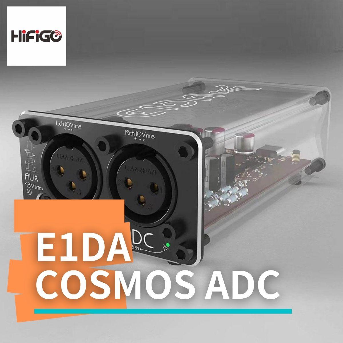 【HiFiGOニュース】E1DA Cosmos ADC:高性能なアナログ・デジタル・コンバータ