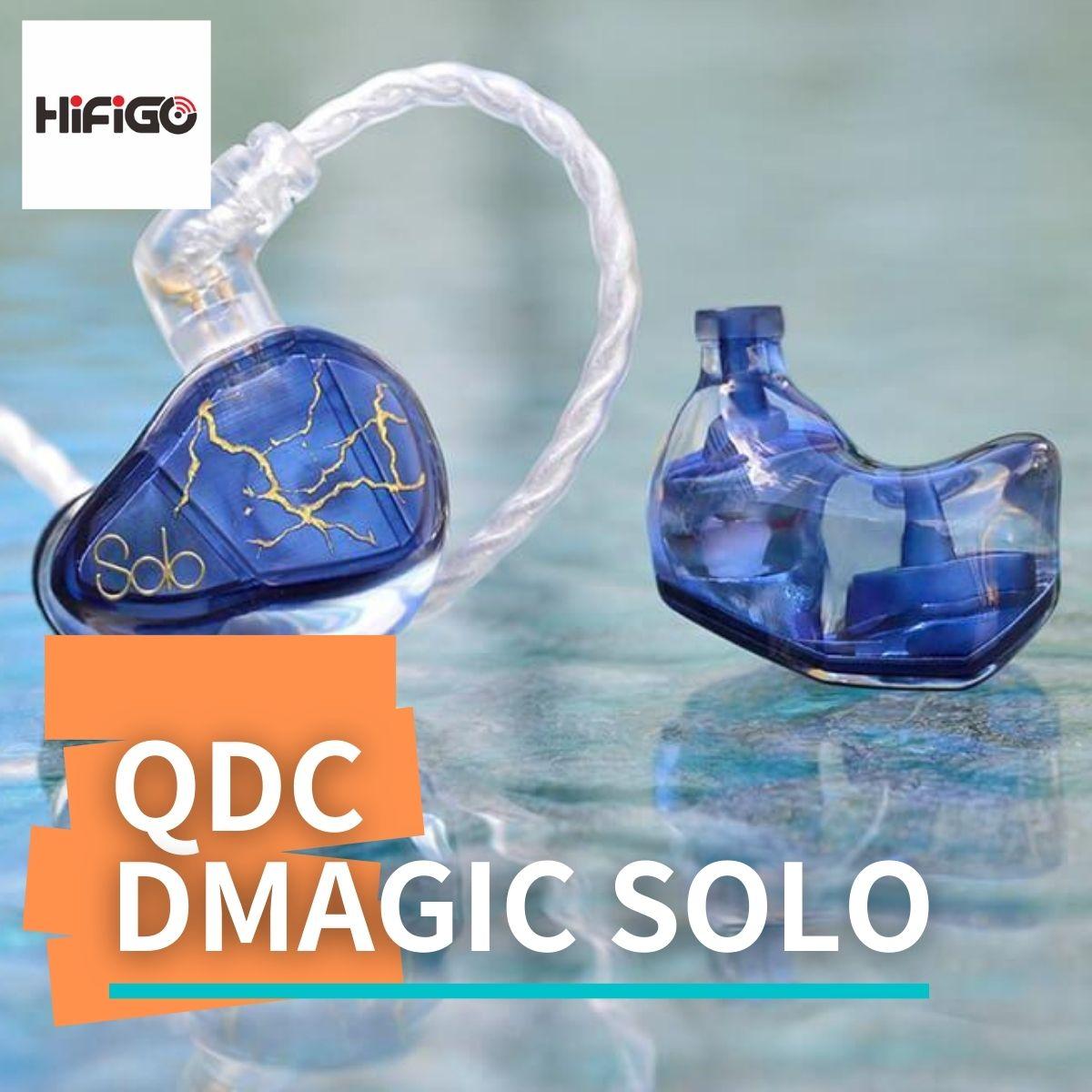 【HiFiGOニュース】qdc DMagic Solo:「中華イヤホン最高峰ブランド」がお届けする、最新のシングル・ダイナミック・ドライバーIEM