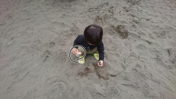 砂場とおにぎり