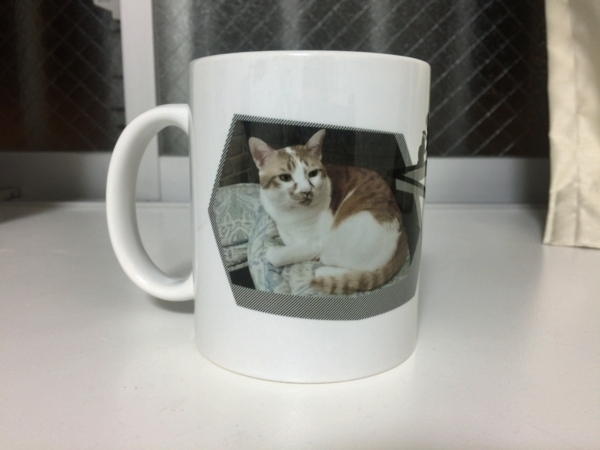 猫マグカップその1