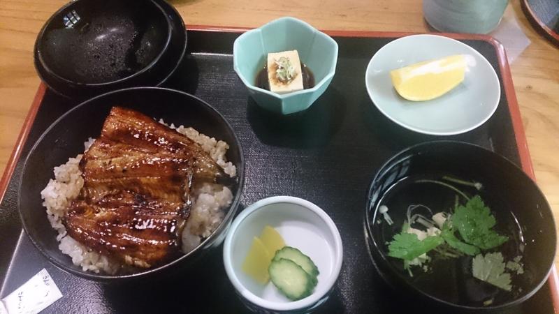 うな丼食べました@浜松