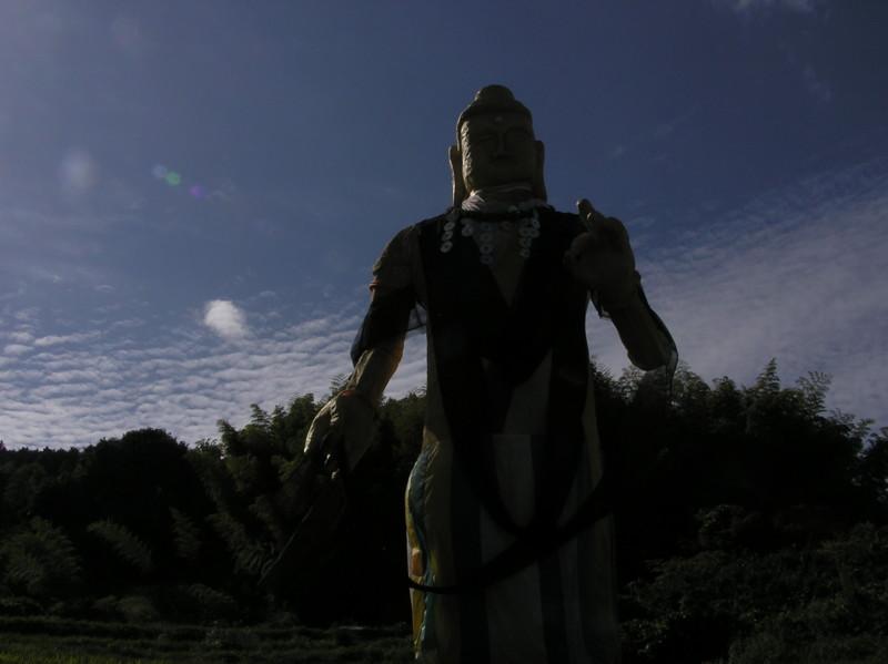 ジャンボ案山子
