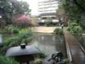 20130215小雨に濡れた浮月楼の庭園