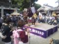20131012「花の舞い」獅子舞(高向神社)