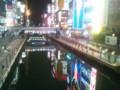 20131204 道頓堀川(御堂筋より撮影)