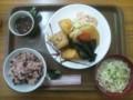 沖縄の家庭料理の店の定食850円