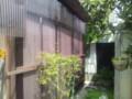 20140501プレハブ小屋の壁面にポリカを貼り付けた