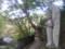 20141103 紅葉を心待ちにしている地蔵さん 延命寺(河内長野市)