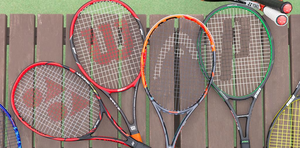 スマートテニスセンサー対応ラケット