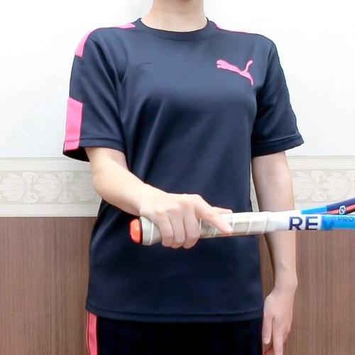 【おうちで簡単トレーニング05】テニス肘予防に肘の強化・肘の稼働域を広げよう!