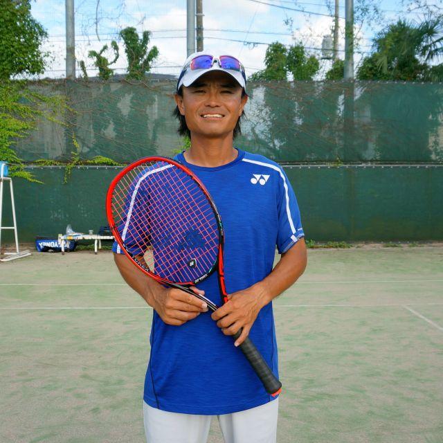 スマートテニスセンサーのデータでプロのドリルに挑戦!「4点打ち」本村剛一選手