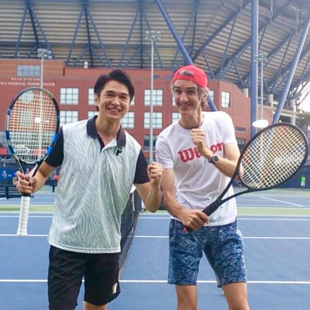 世界で活躍するフローラン・ダバディ氏もスマートテニスセンサーを活用