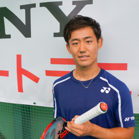 スマートテニスセンサーのデータでプロのドリルに挑戦!「クロスに沈めるパッシングショット」西岡良仁選手
