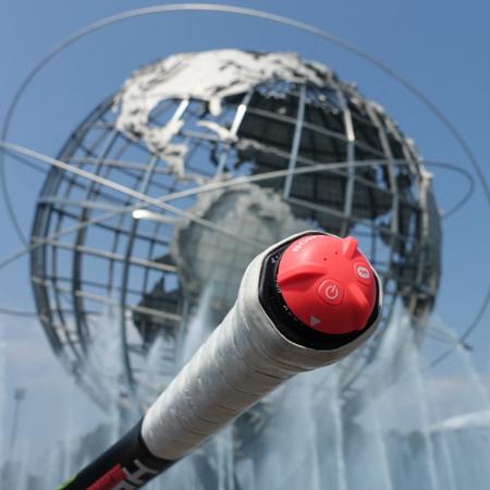 全米オープン会場でスマートテニスセンサー!