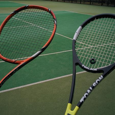 スマートテニスセンサーで実感!テニスはスイートスポットで打つことが重要なスポーツです