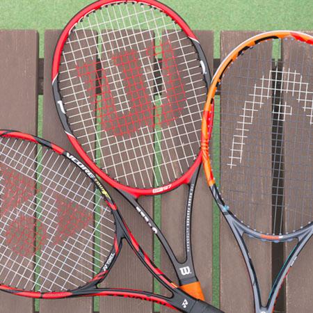 ラケット選びにスマートテニスセンサー