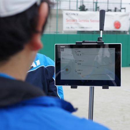 fスマートテニスセンサー体験 感想・口コミ大公開2! in テニススクールグランドスラムトーナメント