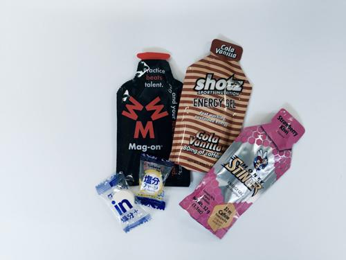 フルマラソン中の空腹対策でエナジージェルとブドウ糖