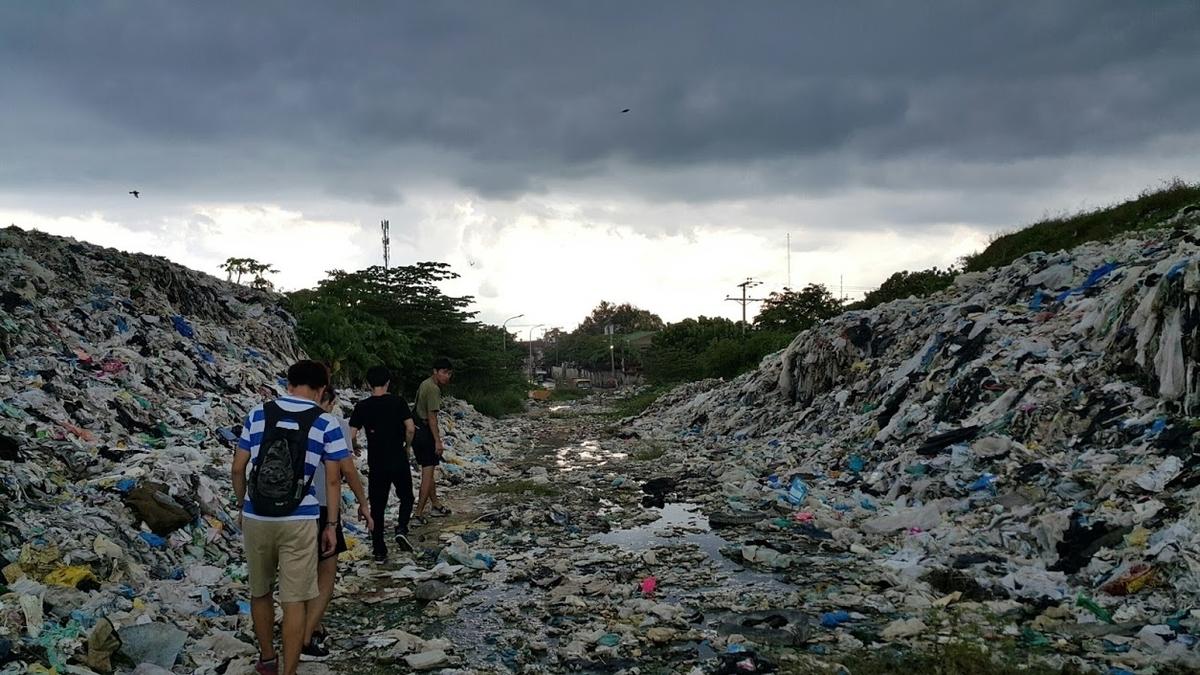 フィリピン・セブ島のゴミ山