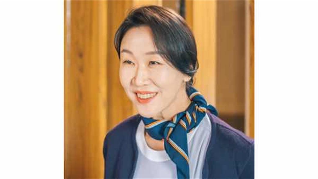 韓国ドラマ【君は私の春】オ・ミギョン(55)(ペク・ヒョンジュ)