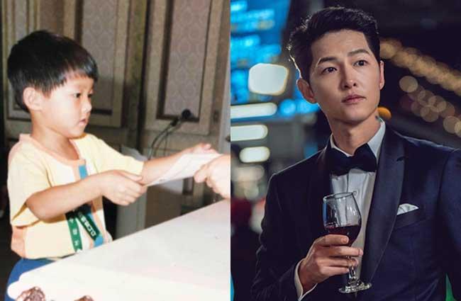 韓国俳優ソン・ジュンギ子供時代