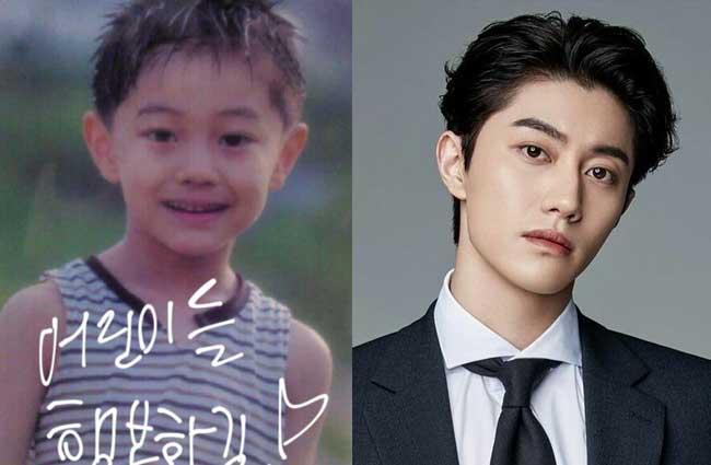 韓国俳優クァク・ドンヨン子供時代