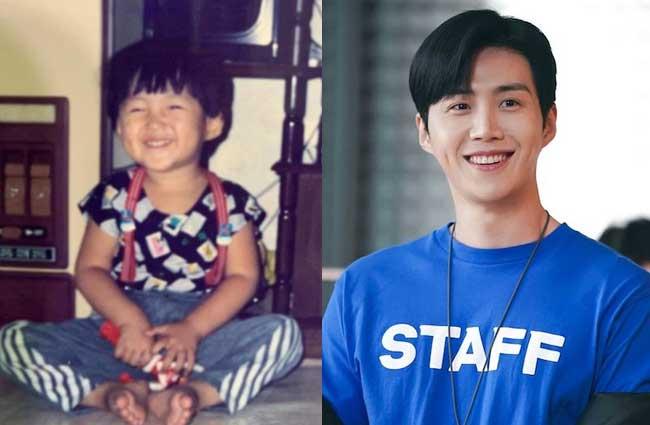 韓国俳優キム・ソンホ子供時代