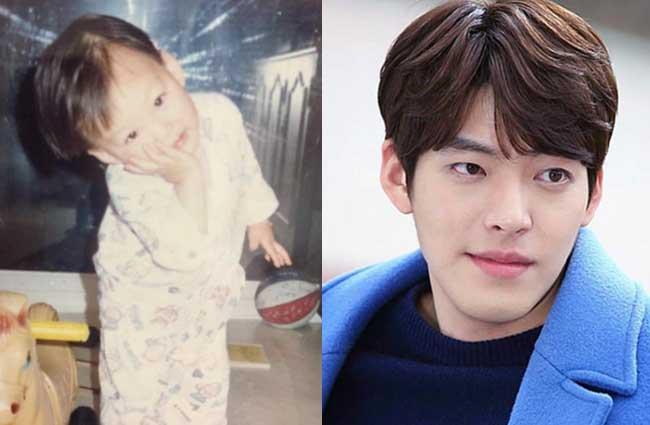韓国俳優キム・ウビン子供時代