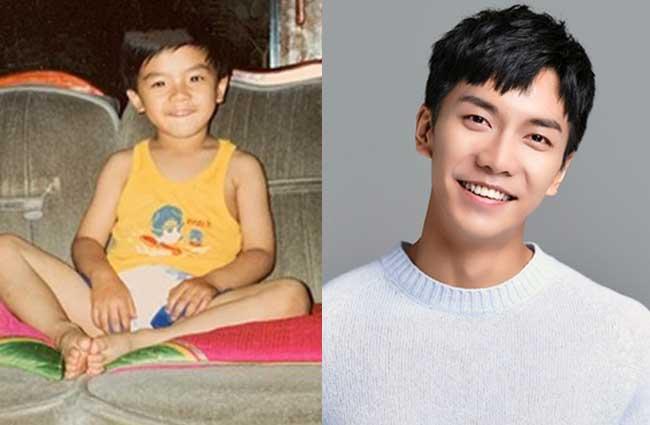 韓国俳優イ・スンギ子供時代