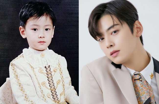 韓国俳優チャ・ウヌ子供時代