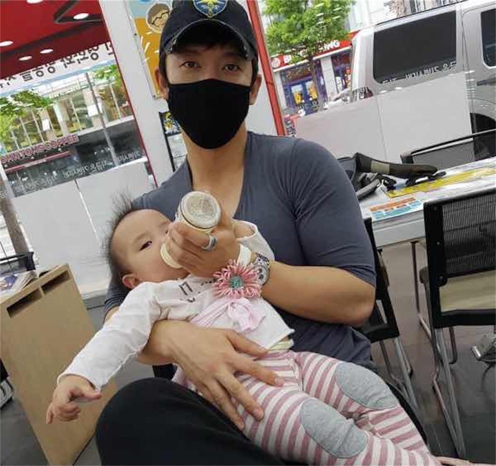 お父さん韓国有名人キ・テヨン