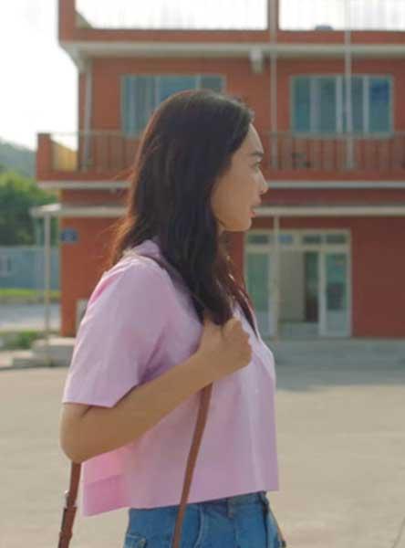 ドラマ【海街チャチャチャ】ユン・ヘジン(シン・ミナ)ピンクファッション