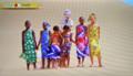 紅白・MISIAさんのアフリカ南西部のナミビア共和国「ナミブ砂漠」中継