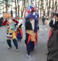 宝来館巡行黒森神楽2013.2.9