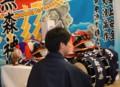 黒森神楽巡行宝来館2013.2.10